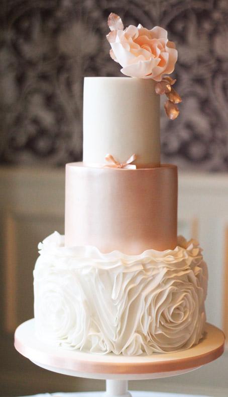 Lookbook Wedding Cake Inspiration By Fancie Buns